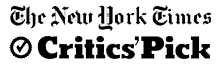 nytimes critics pick